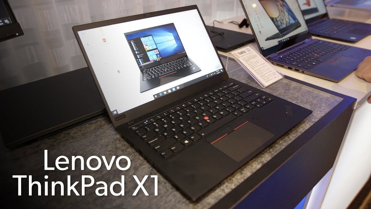 Lenovo ThinkPad X1 Carbon & X1 Yoga: New materials and Whiskeylake CPUs