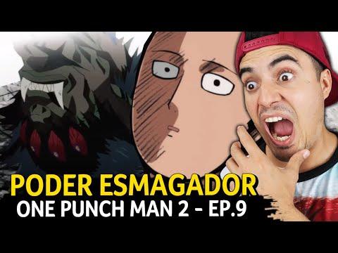 PODER ESMAGADOR DE SAITAMA! - One Punch Man 2 - Ep.9 - Fred   Anime Whatever