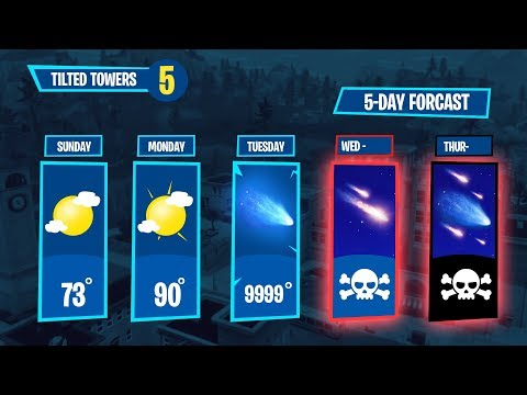 TILTED TOWERS 5 DAY FORECAST