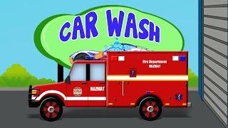 Hazmat Car | Car Wash | Kids Cars