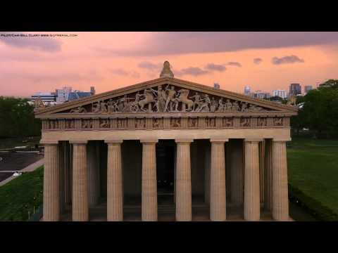 """""""THE PARTHENON""""  - Drone Aerial video by Bill Clary Got Aerial llc."""