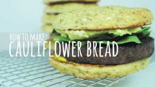 Cauliflower Bread - Gluten Free Bread Recipes