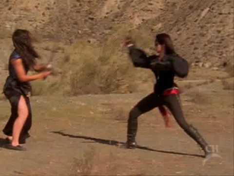 """Queen of swords - """"The dragon"""" final fight scene"""