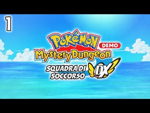Pokemon Mystery Dungeon Squadra Di Soccorso DX ITA [Demo - 1]