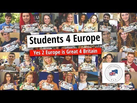 #Students4Europe: Yes 2 Europe is Great 4 Britain (ii)