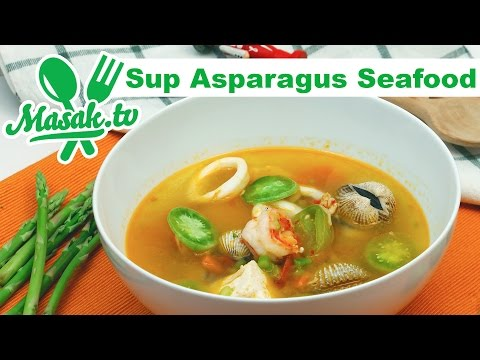 Sup Asparagus Seafood Feat Aryo