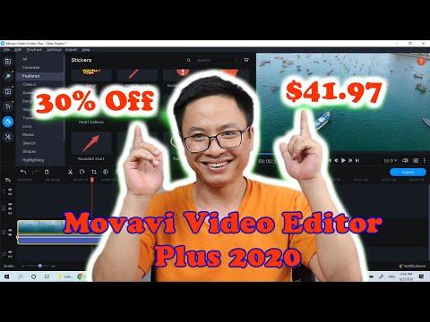 Movavi Video Editor Plus 2020 Back To School Discount Code
