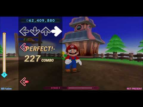 (All Perfects) Dance Dance Revolution Mario Mix - All Songs (Super Hard) [with Time Stamps]