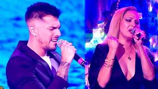 Tyago Griffo y Lissa Vera cantaron