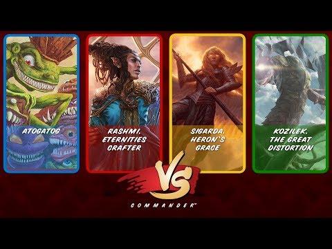 Commander VS S8E2: Atogatog vs Rashmi vs Sigarda vs Kozilek