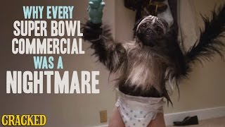 Why Every Super Bowl Commercial Was A Nightmare