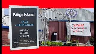 KINGS ISLAND Special Announcement! #TEOTWAWKI - The End Of The World As We Know It