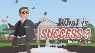 What is Success? | Nouman Ali Khan | illustrated | Subtitled