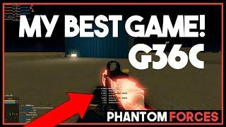 QUESTA PISTOLA È INCREDIBILE! (G36C Phantom Forces Roblox)