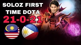 FIRST TIME DOTA MEET RANDOM GUYS FROM PHILIPPINES