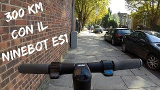 The first 300 km with the Ninebot ES1 🤩 - pros and cons of this fantastic electric scooter