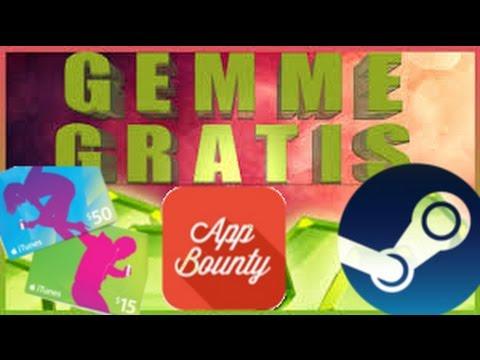 GEMMIAMO GRATIS E PRENDIAMO CARD STEAM GRAZIE AD APPBOUNTY