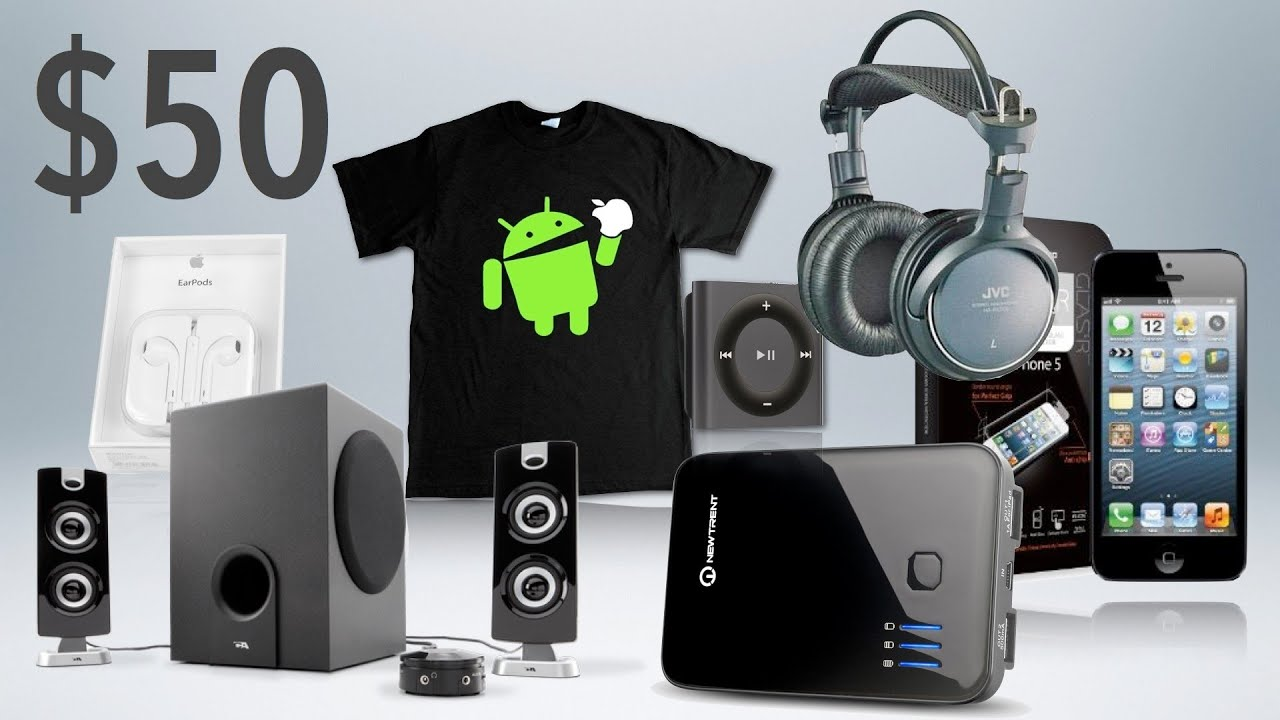 best tech geek gifts under 50 2012 holiday gift guide youtube - Best Christmas Gifts Under 50
