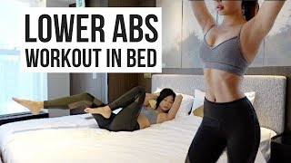 Baixar 10 min Lower Ab Workout IN BED to Burn Belly Fat!