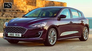 2019 Ford Focus Vignale Hatchback & Wagon Design Overview & Driving Footage HD