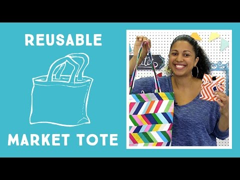 Reusable Market Tote: Easy Sewing Project with Vanessa from