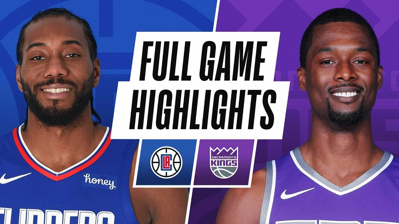 CLIPPERS at KINGS | FULL GAME HIGHLIGHTS | January 15, 2021 - NBA