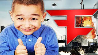 10 YEAR OLD RECRUITED INTO FaZe Clan! (Call of Duty Trolling)