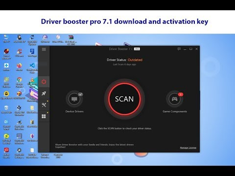 IObit Driver Booster 7.1 PRO Download Key Working 100%