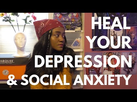 Heal Your Depression & Social Anxiety NATURALLY Without: Medication, Therapy, Religion|ESP Daniella