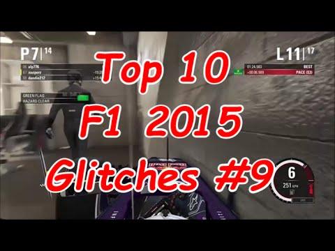 Top 10 F1 2015 Glitches #9 |