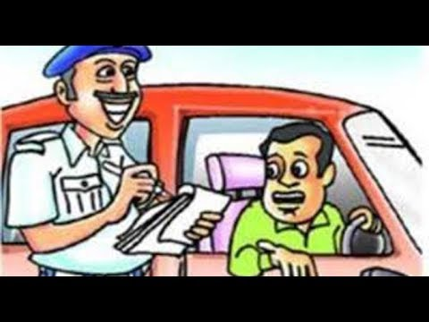 paragraph on traffic rules in hindi