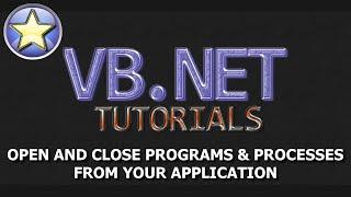 VB.NET Beginner Tutorial - Start And Kill Programs And Processes (Visual Basic .NET)