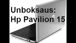 HP Pavilion 15 (Läppäri) - Unboxing/Unboksaus