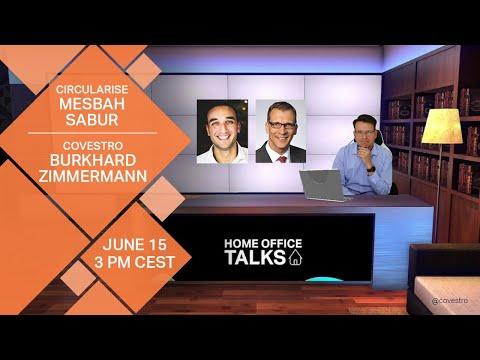 Tracing plastics with blockchain with Mesbah Sabur and Burkhard Zimmermann   Home Office Talks