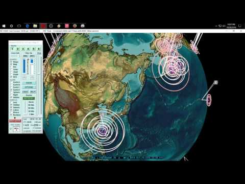 10/28/2016 -- New Earthquake Warnings issued for Europe , Japan, West Coast USA