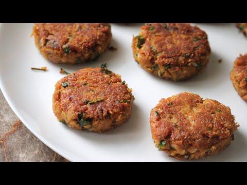 soya kheema kabab recipe soya chunks cutlets recipe