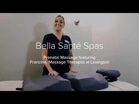 Bella Santé's Prenatal Massage Featuring Francine