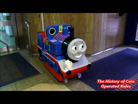 1990s Coin Operated Steam Engine Kiddie Ride - Thomas The Tank Engine