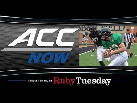 True Freshman Named Starting QB | ACC Now