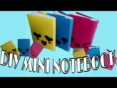 Diy Mini Notebook || One Sheet of paper || Diy back to school
