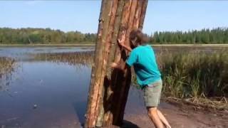 How to build kid's raft.