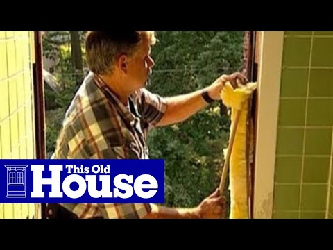 How to Install a Replacement Window - This Old House