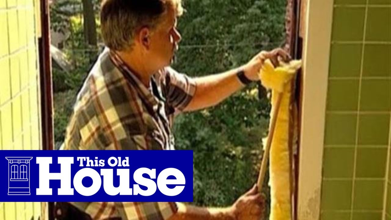 How To Install A Replacement Window This Old House You