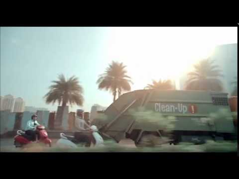 Adarsh sharma gulf engine oil ad with ms dhoni