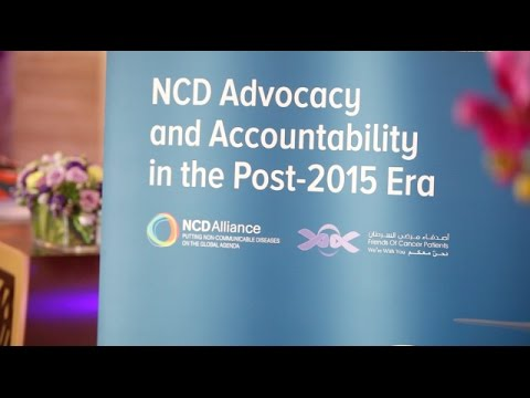 """2015 Global NCD Alliance Forum delegates answer: """"What drives you to be an NCD advocate?"""""""