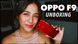 OPPO F9 UNBOXING Philippines | VOOC Flash Charge | Jessica Godinez
