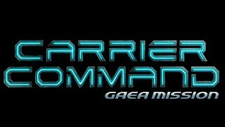 Carrier Command: Gaea Mission Gameplay [ PC HD ]