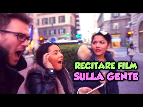 RECITARE FILM FAMOSI SULLA GENTE