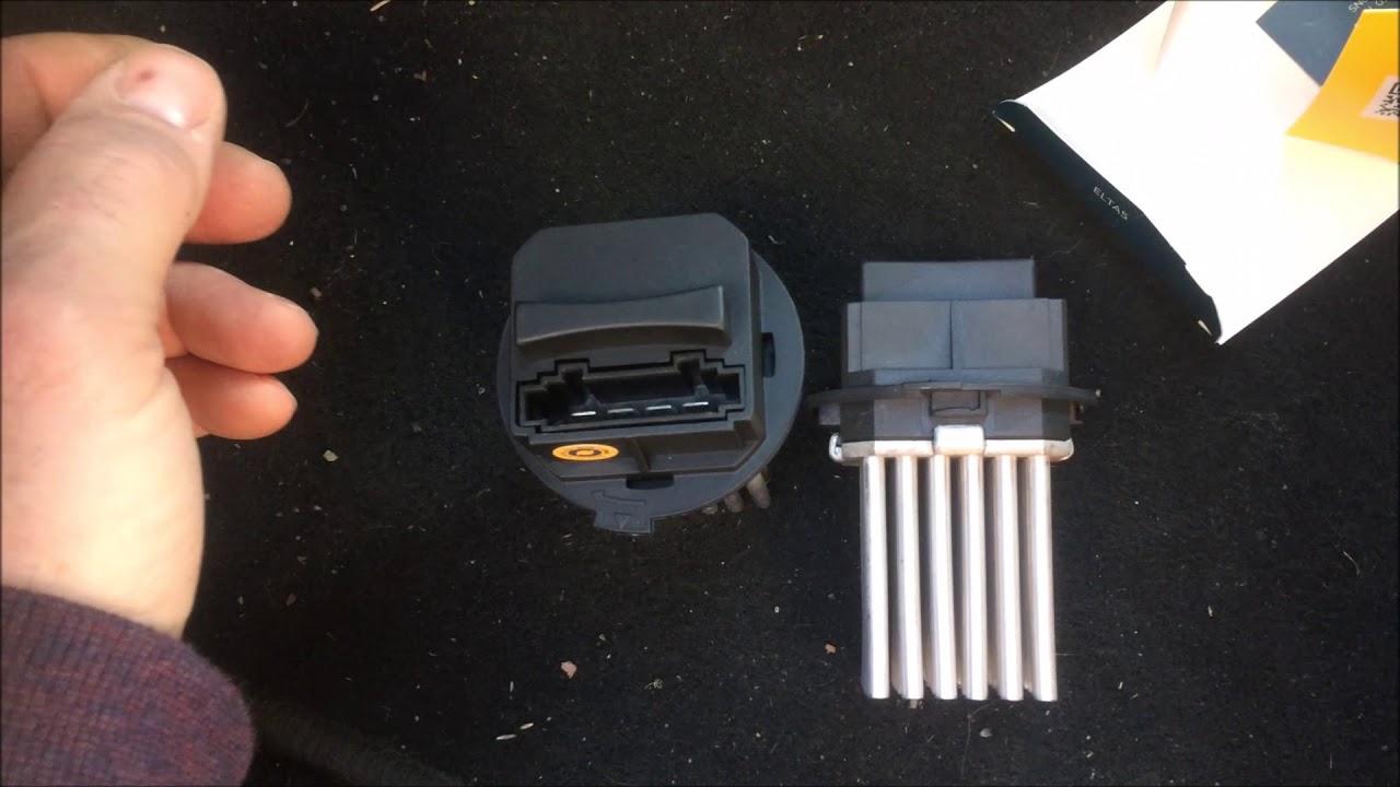 HeaterBlower Motor Fan Resistor for
