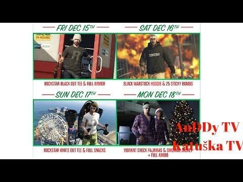 GTA 5 Online  Olinomat Hosť Vianoce su Zas
